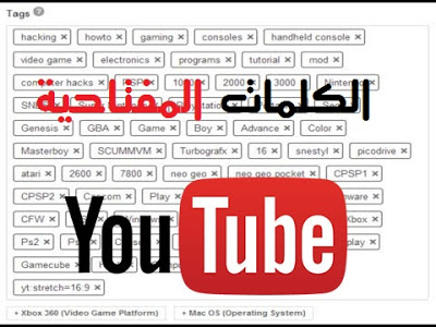 صورة طريقة معرفة الكلمات المفتاحية المخفية  ( TAGS ) لأي فيديو على اليوتيوب مع استعمالها