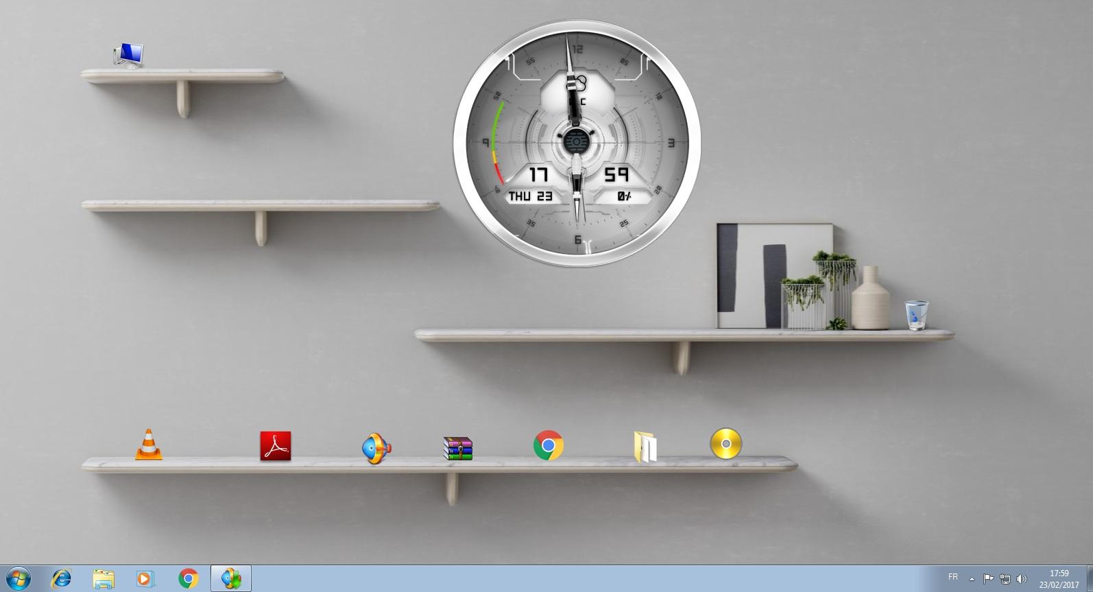 صورة اجعل سطح المكتب لديك جميل ومنظم بخلفيات 3D