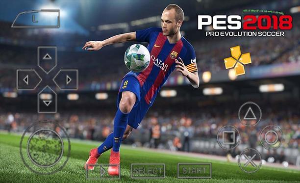 صورة الطريقة الصحيحة لتشغيل ألعاب PES على الهاتف من خلال محاكي PSP