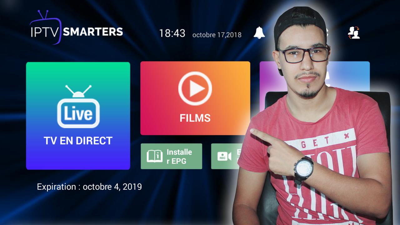 صورة تعلم بنفسك طريقة إنشاء أكواد IPTV Smarters Pro صالحة حتى لمدة سنة مجانا