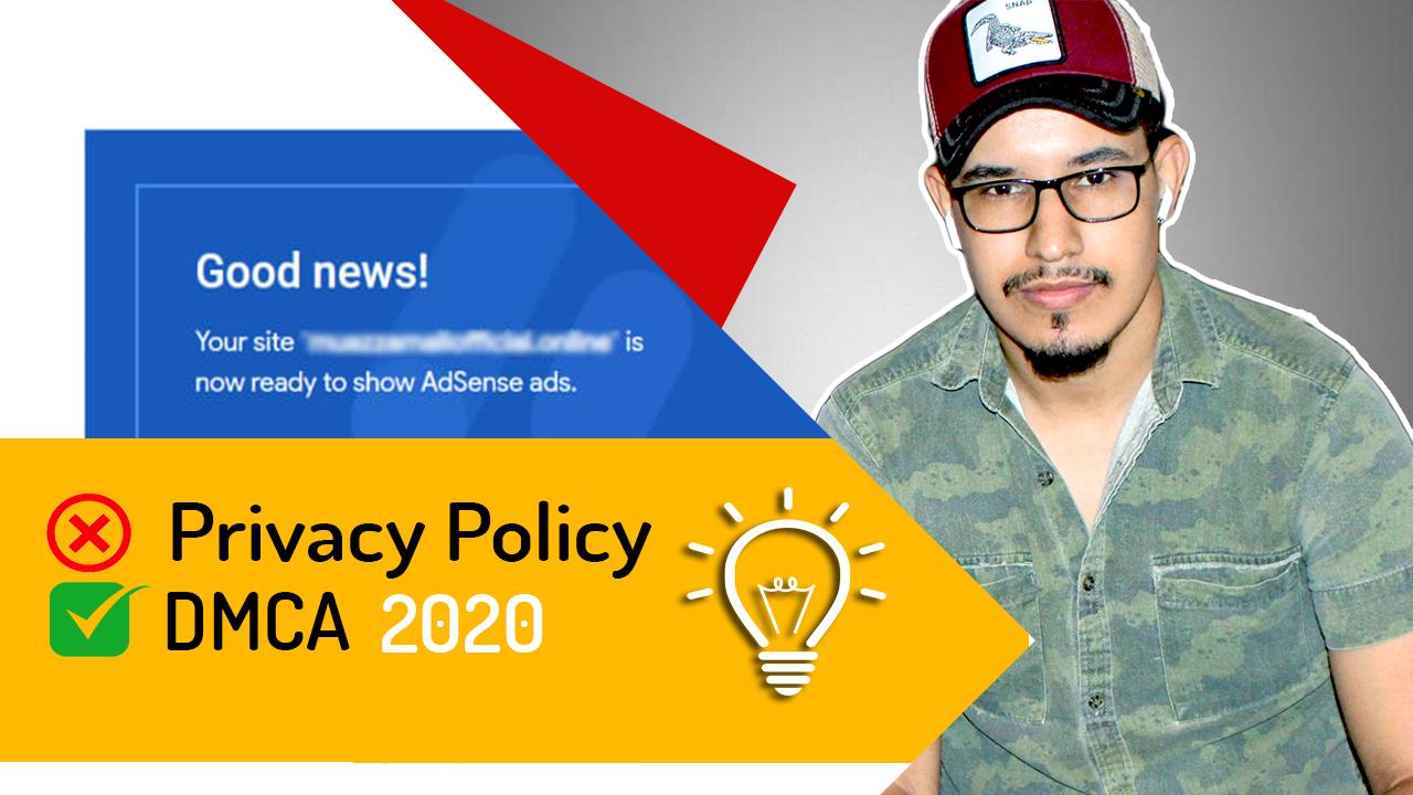 صورة الصفحات الضرورية لقبول موقعك في Google Adsense 2020 #5