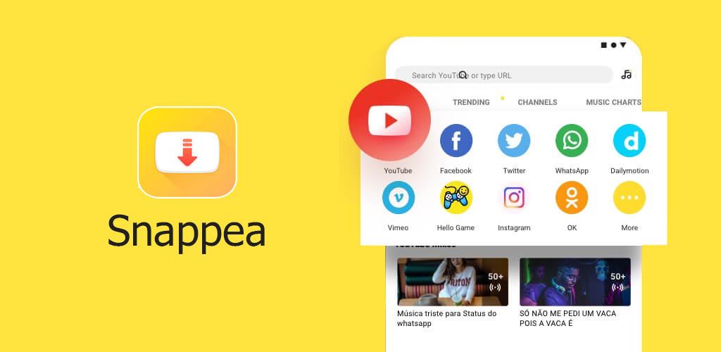 صورة مراجعة Snappea : موقع ويب لتنزيل الفيديوهات من الشبكات الاجتماعية