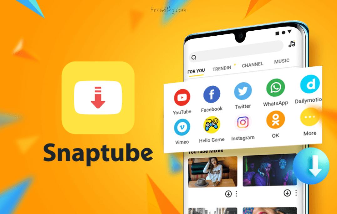 صورة مراجعة Snaptube : تطبيق تنزيل الفيديوهات من الشبكات الاجتماعية